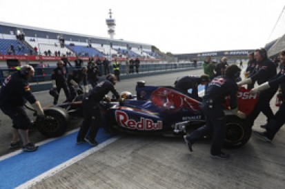 Day two of 2014 Formula 1 testing will set panic level - Toro Rosso