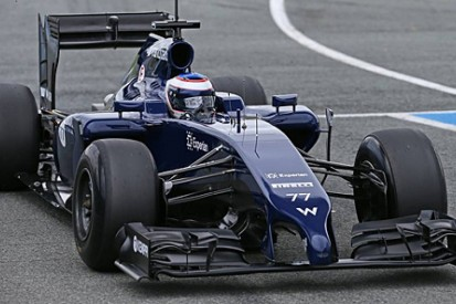 Williams takes wraps off new F1 car, the FW36, at Jerez