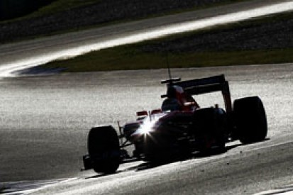 Marussia F1 2014 test debut delayed by technical glitch