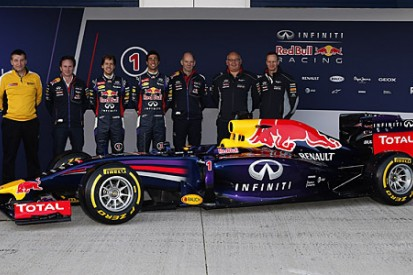 Red Bull launches 2014 RB10 Formula 1 car before Jerez testing