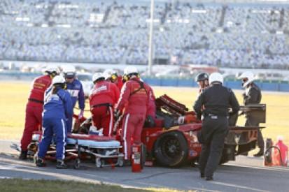Daytona 24 Hours: Memo Gidley requires back surgery after crash