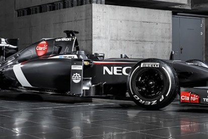 Sauber launches its 2014 Formula 1 car, the C33