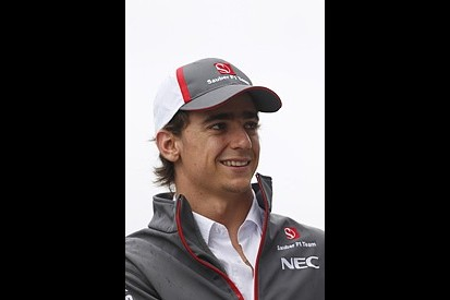Esteban Gutierrez wants to become team leader at Sauber in F1 2014