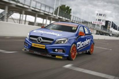 BTCC Mercedes set to hit track next month