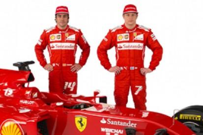 Kimi Raikkonen can't judge Fernando Alonso Ferrari relationship yet