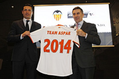Aspar MotoGP team joins forces with Valencia football club