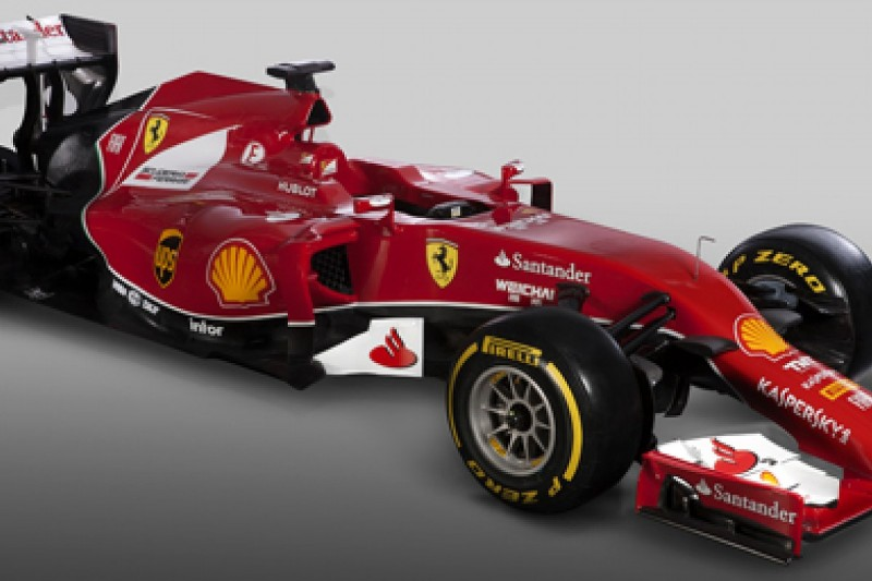 Ferrari unveils its 2014 Formula 1 design, the F14 T