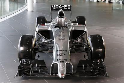 McLaren reveals its 2014 Formula 1 car
