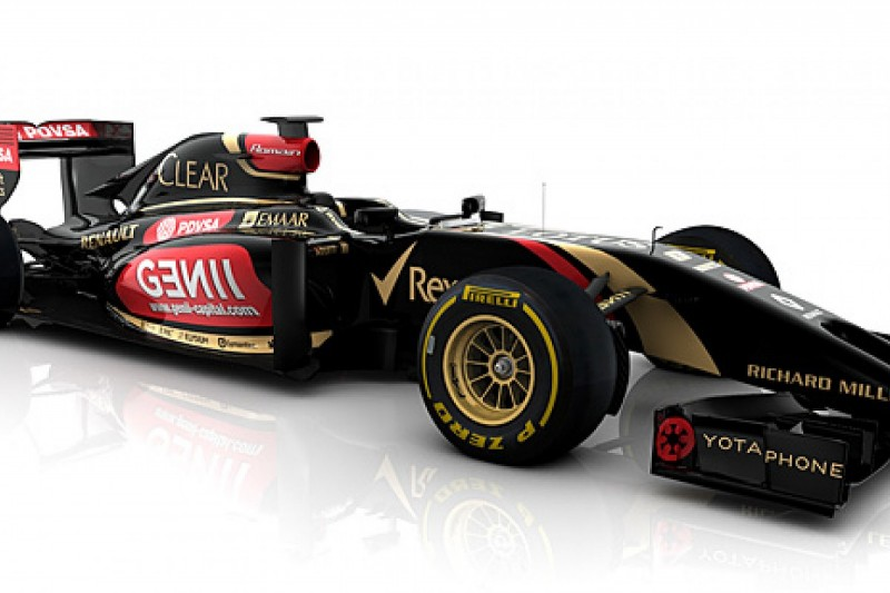 Lotus releases first image of its 2014 Formula 1 car