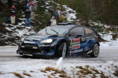 Elfyn Evans shocked by intensity of stepping up into the WRC
