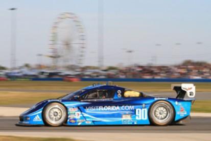 Daytona 24 Hours practice: Richard Westbrook's Coyote fastest