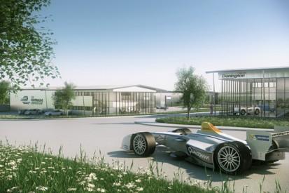 Formula E chooses Donington Park for its base