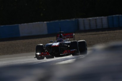 McLaren's 2014 Formula 1 car passes final crash tests