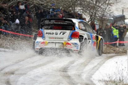 WRC Monte Carlo: Sebastien Ogier holds lead as weather worsens