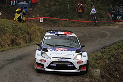 WRC Monte Carlo: Bouffier holds Ogier at bay as rally resumes