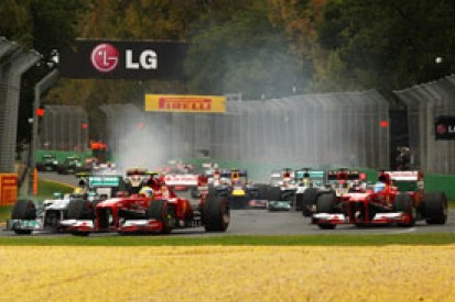 Half the field could retire from F1 2014 opener - Christian Horner