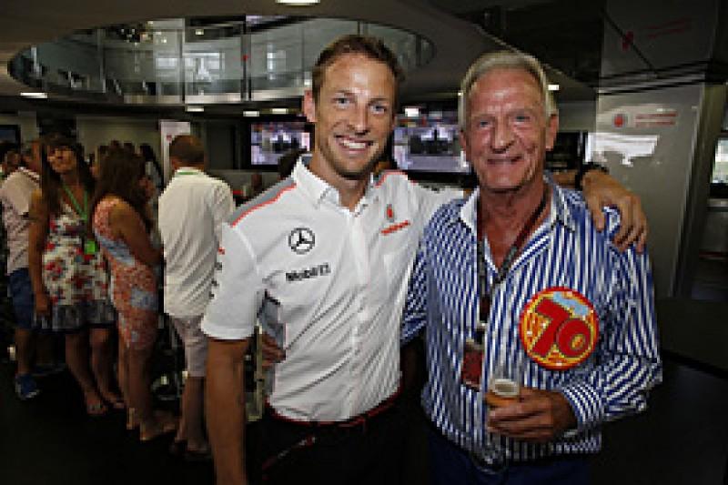 Jenson Button's father John dies aged 70