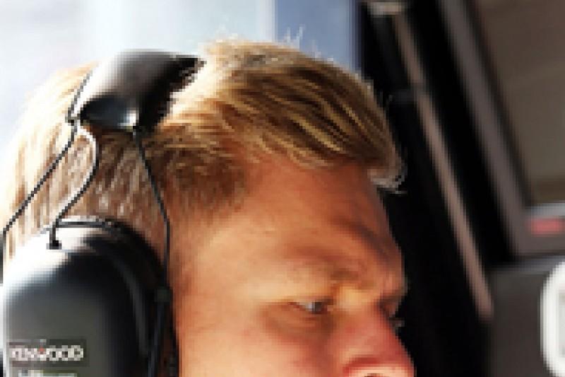 Magnussen will push McLaren Formula 1 team-mate Button says Paffett