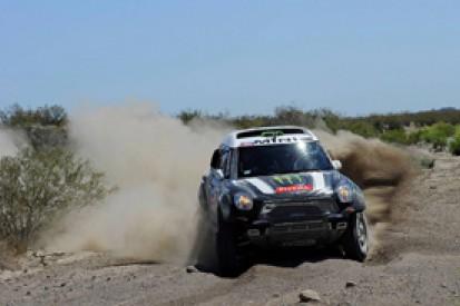 Dakar: Stephane Peterhansel hits the front on day two