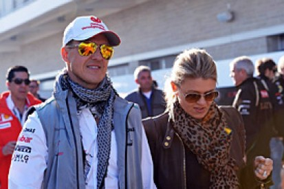 Schumacher's wife Corinna asks media to leave Grenoble hospital