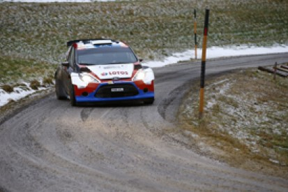 Janner ERC: Robert Kubica leads after day one