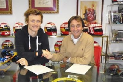 Arthur Pic joins Campos for team's 2014 GP2 return