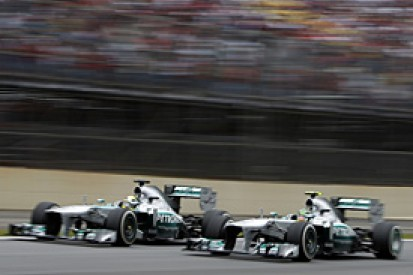 Mercedes admits pressure to deliver an F1 championship assault