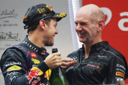 Sebastian Vettel 2013 F1 clean sweep never likely - Adrian Newey