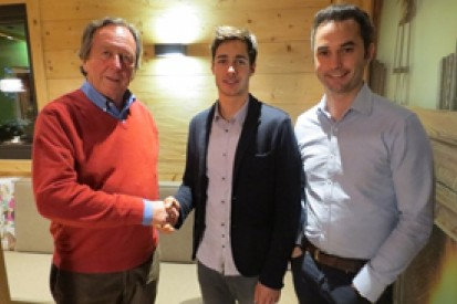 Rene Binder targets 'big step' with Arden in 2014 GP2 season