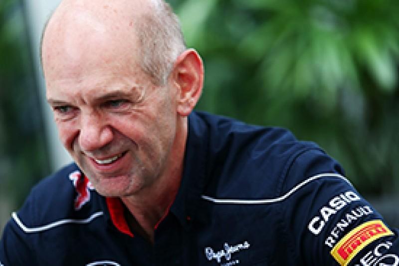 Adrian Newey admits Pirelli tyre change helped Red Bull in 2013