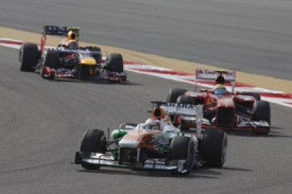 Force India targeting top five finish with new Formula 1 engines