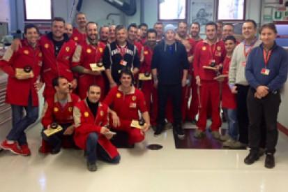 Kimi Raikkonen better than expected so far says Ferrari