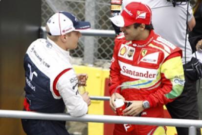 Valtteri Bottas keen to learn from 2014 F1 team-mate Felipe Massa