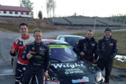 Petter Solberg signs Alexander Hvaal for 2014 World Rallycross