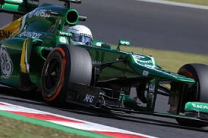 Caterham F1 2014 chassis passes mandatory crash tests