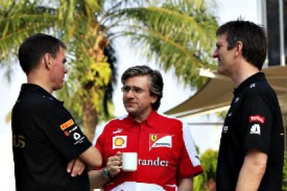 Pat Fry says James Allison will boost Ferrari's 2014 title chances