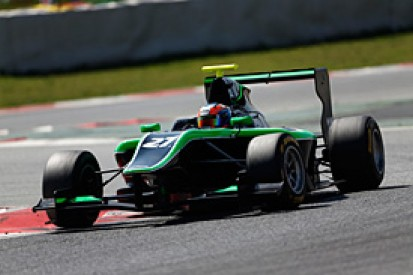 Barcelona GP3: Stanaway leads first practice session of 2014