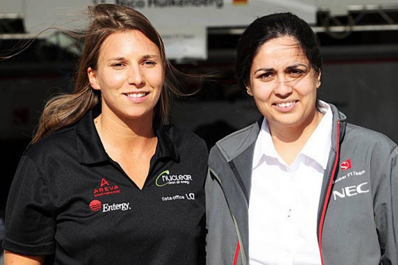 Simona de Silvestro chasing 2015 F1 race drive with Sauber