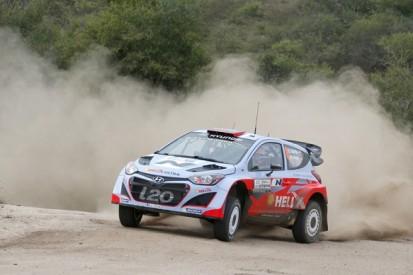Rally Argentina: Hyundai's Dani Sordo leads shakedown