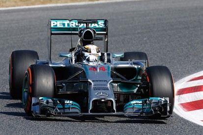 Spanish GP: Lewis Hamilton leads first practice for Mercedes