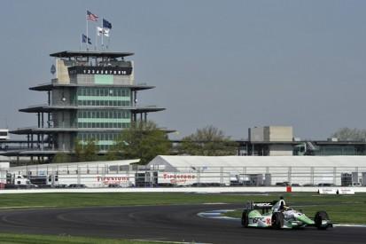 Indianapolis road course IndyCar: Sebastien Bourdais leads practice