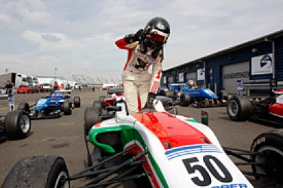 Rockingham British F3: Sam MacLeod doubles up in race two