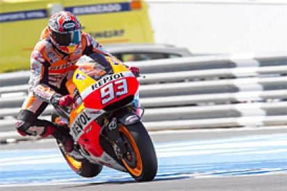 MotoGP testing: Marquez quickest at Jerez on Monday
