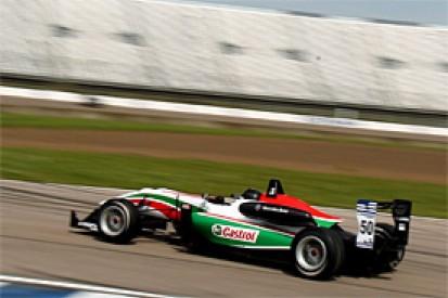 Rockingham British F3: Sam MacLeod dominates race one