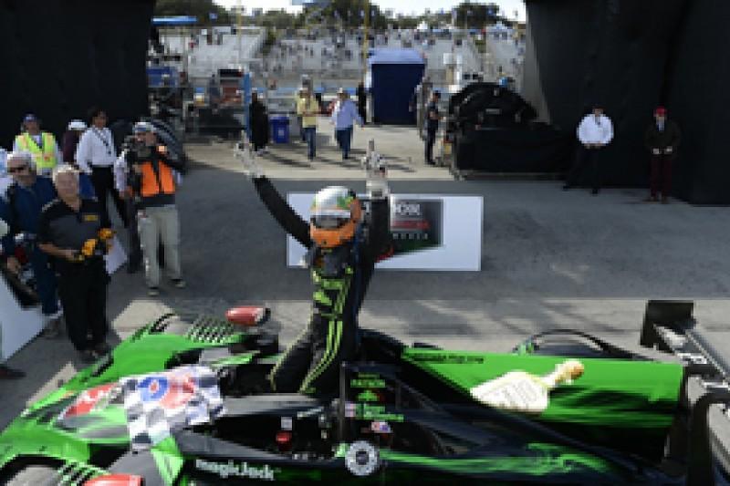 Laguna Seca United SportsCar: Extreme Speed's LMP2 HPD wins