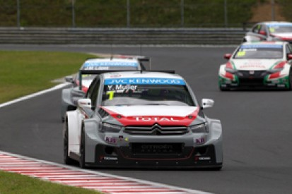Hungaroring WTCC: Yvan Muller takes pole-to-flag win in race one