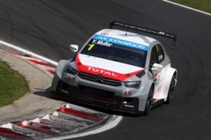 Hungaroring WTCC: Yvan Muller claims pole for Citroen