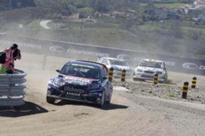 World Rallycross Montalegre: Nitiss holds surprise overnight lead