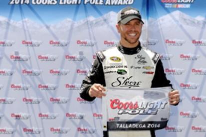 Talladega NASCAR: Rookie Childress protege Brian Scott on pole