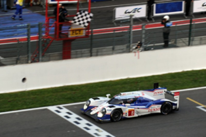 Spa WEC: Toyota wins again with Davidson, Lapierre and Buemi